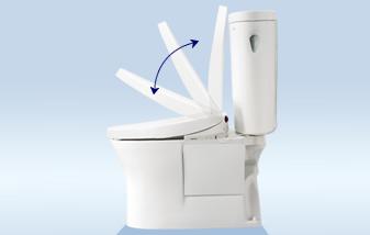 「自動開閉付トイレ」の画像検索結果