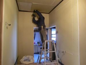 二重天井の仕上