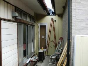 金属外壁材施工