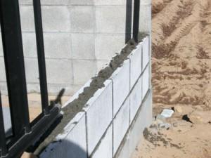 ブロックフェンス復旧工事