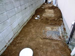 外部給排水配管工事
