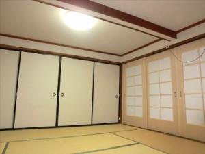 8畳和室の内装リフォーム