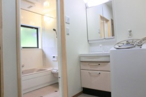 洗面室改修リフォーム