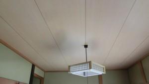 和室クロス天井