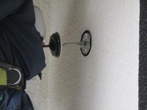 玄関ポーチ灯交換