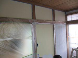 和室 漆喰塗