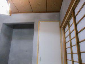 和室漆喰壁リフォーム