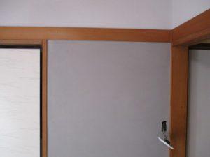漆喰壁補修塗り